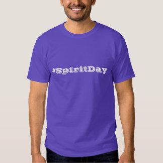 Blanco y púrpura del aliado del día LGBT del Poleras