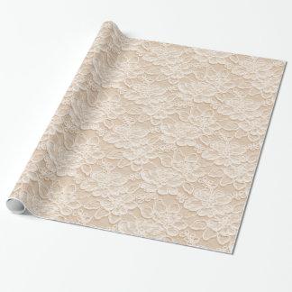Blanco y textura del cordón del melocotón
