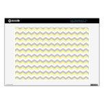 Blanco, zigzag gris de Chevron del amarillo Acer Chromebook Skins