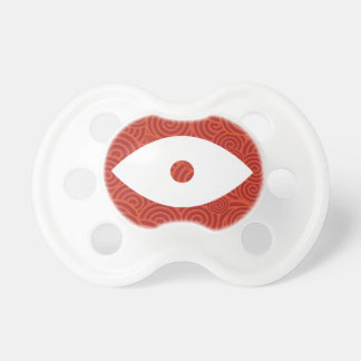 Blancos del ojo mínimos chupetes para bebés