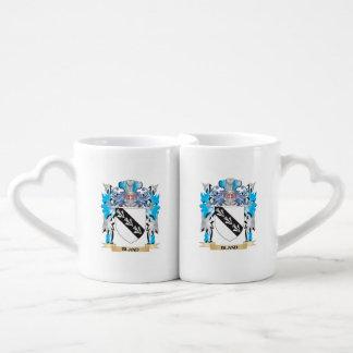 Bland Coat of Arms Couples' Coffee Mug Set