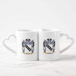 Bland Coat of Arms - Family Crest Couples' Coffee Mug Set