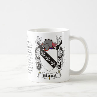 Bland, History, Meaning and the Crest Mug