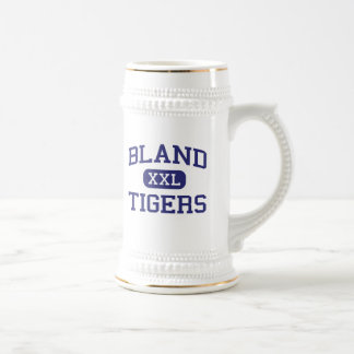 Bland - Tigers - Bland High School - Merit Texas 18 Oz Beer Stein