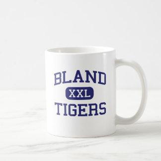 Bland - Tigers - Bland High School - Merit Texas Classic White Coffee Mug