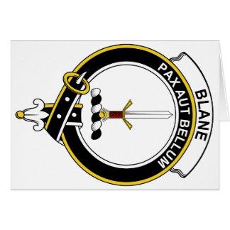 Blane Clan Badge Card