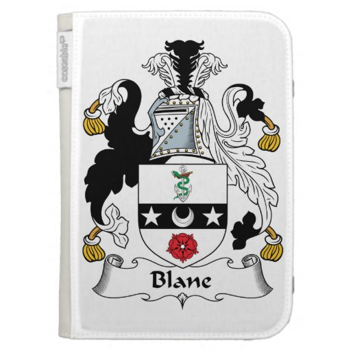 Blane Family Crest Kindle 3G Cases