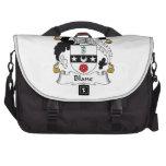 Blane Family Crest Laptop Bags