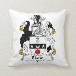 Blane Family Crest Pillow