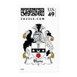 Blane Family Crest Stamp