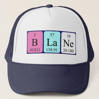 Blane periodic table name hat