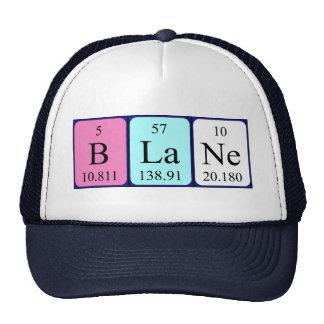 Blane periodic table name hat