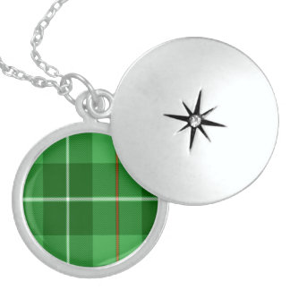 Blane Round Locket Necklace