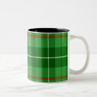 Blane Scottish Tartan Two-Tone Coffee Mug