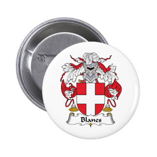 Blanes Family Crest Buttons