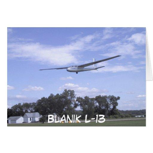 Blanik L-13 Felicitacion
