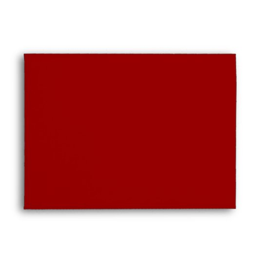 Blank A7 Dark Red Greeting Card Envelopes