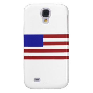 Blank American Flag Samsung Galaxy S4 Cases
