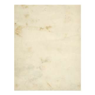 Blank Antique Aged Paper Flyer