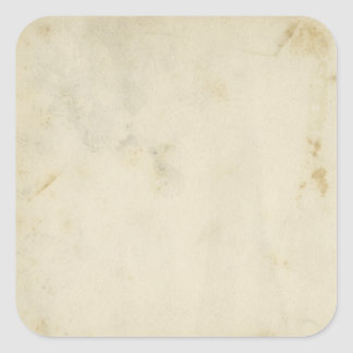 Blank Antique Aged Paper Stained Stickers