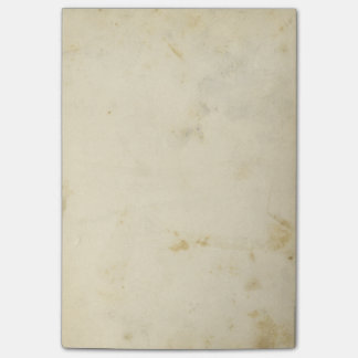 Blank Antique Stained Paper Post-it® Notes