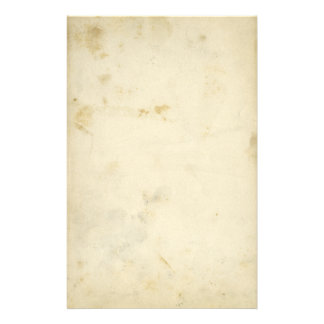 Blank Antique Stained Paper Stationery