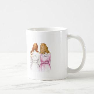 BLANK BACK Mug Red Long Bride Dk Bl Mother
