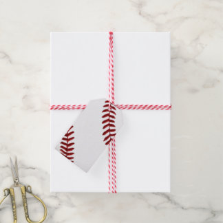 Blank Baseball Gift Tags, Handwrite, ADD Your TEXT Gift Tags