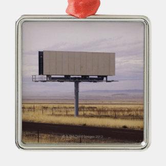 Blank Billboard Metal Ornament