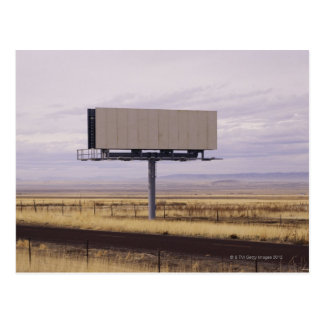 Blank Billboard Postcard