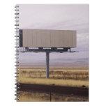 Blank Billboard Spiral Notebook