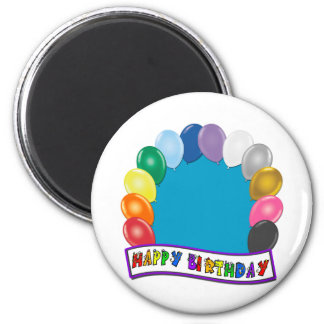 Blank Birthday Design Birthday Magnet