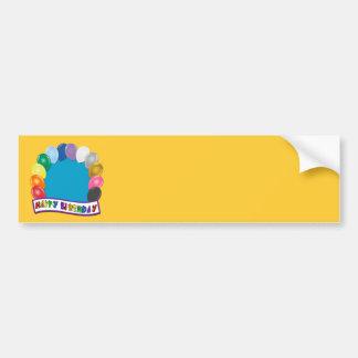 Blank Birthday Design Bumper Sticker