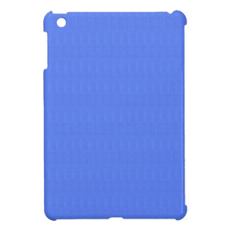 Blank Blue Texture Template DIY add TEXT IMAGE Case For The iPad Mini