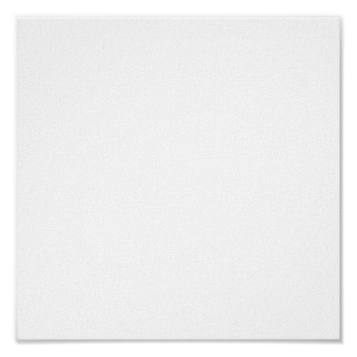 Blank Canvas-Gloss Poster