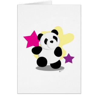 Blank Card - Dancing Panda