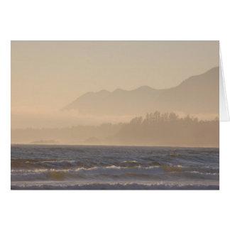Blank Card - Mist Along the Shore