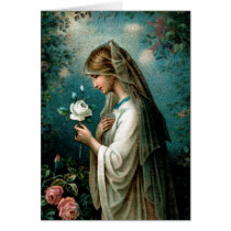 Blank Card: Mystical Rose