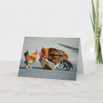 Blank Card, Rooster Thank You Card
