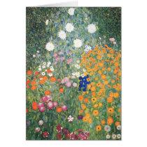 Blank Card - The Flower Garden