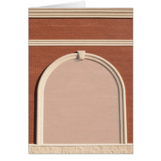 Blank Card with Architectural Border