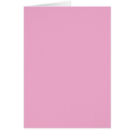 Blank Card with Pastel Pink Background