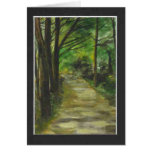 Blank Card Woodland Walk