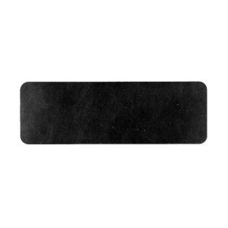 Blank Chalkboard - Customizable Product Packaging Return Address Label