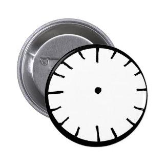 Blank Clock Button