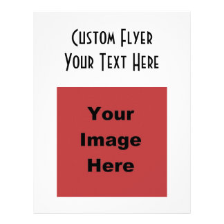 ♥ Blank - Create Your Own Gift Flyer