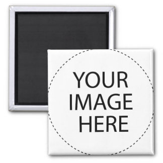 ♥ Blank - Create Your Own Gift 2 Inch Square Magnet