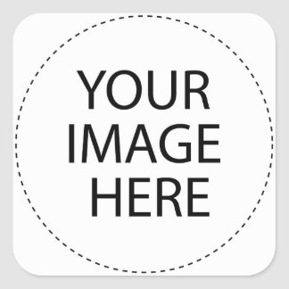 ♥ Blank - Create Your Own Gift Square Sticker