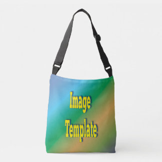 Blank Create Your Own Product Template Crossbody Bag