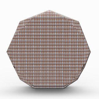 Blank Crystal Texture DIY Template add TEXT PHOTO Acrylic Award